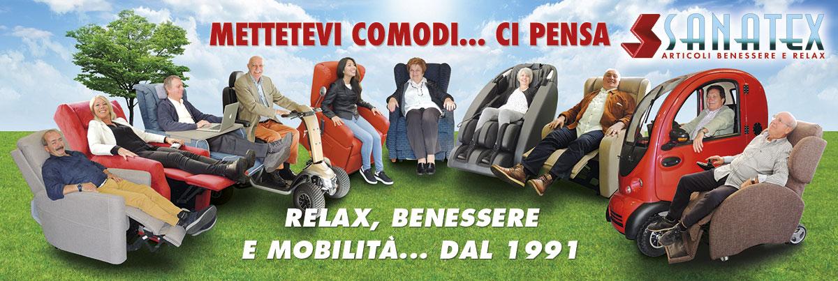 poltrone relax e scooter elettrici per anziani e disabili