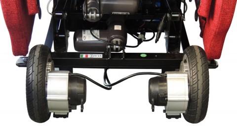 2 motori ruote posteriori poltrona relax robotica daisy