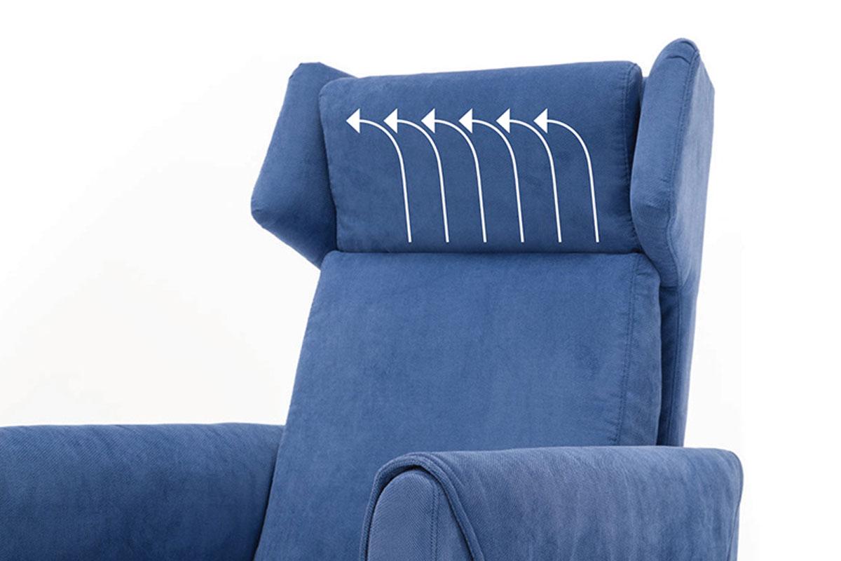 Poggiatesta reclinabile poltrona relax roma poltrone relax e