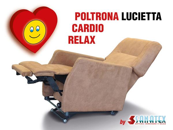 POLTRONA CARDIO RELAX LUCIETTA