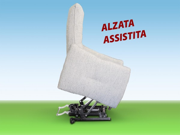 POLTRONA RELAX ERGONOMICA ALZATA ASSISTITA