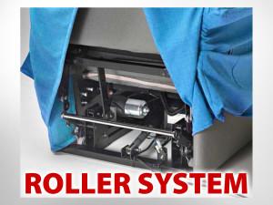 POLTRONA RELAX RICHIUDIBILE TRASPORTABILE CON ROLLER SYSTEM