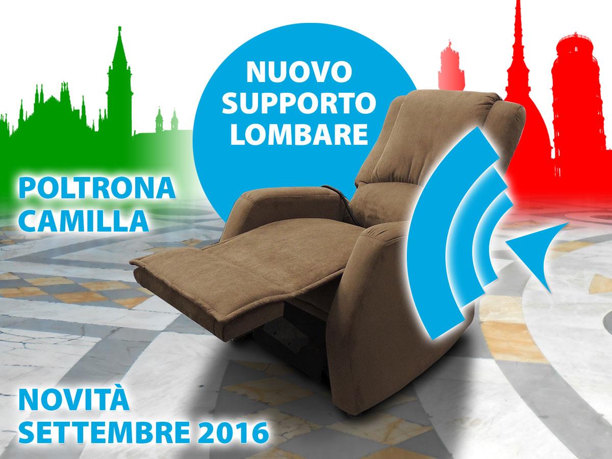 POLTRONA RELAX CON SUPPORTO LOMBARE