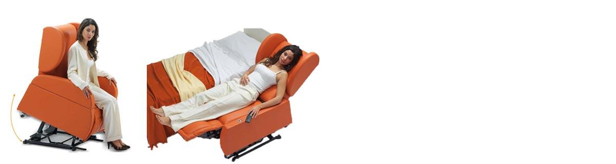 Poltrone relax per disabili
