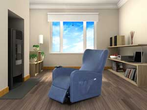 POLTRONE ANZIANI RECLINABILI PLUS RELAX TV