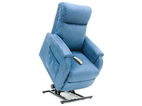 poltrona anziani piccola reclinabile elevabile alzapersona