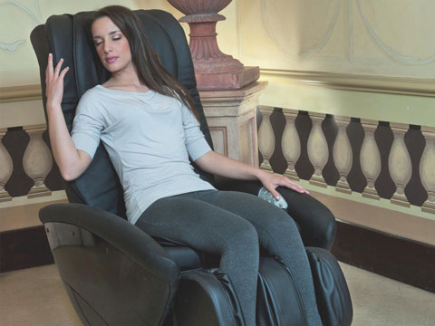Poltrona massaggiante zero gravity KARMA