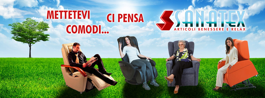 Poltrone Relax Anziani Disabili Massaggianti Sanatex
