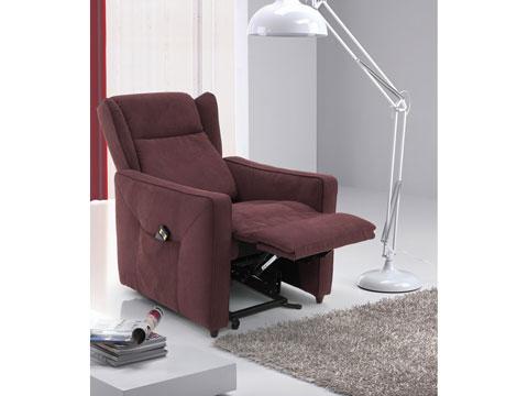 Poltrone relax reclinabili in posizione relax