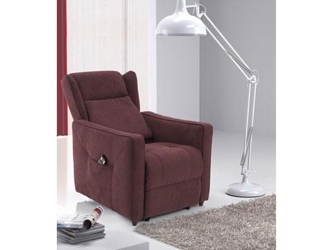 Poltrone relax schienale reclinato