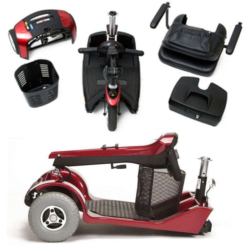 Scooter elettrici per anziani e disabili trasportabili in auto