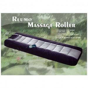 TECNOMASSAGE SHIATSU::Il benefico relax per tutta la famiglia! Materassino pieghevole con sistema di vibromassaggio e massaggio shiatsu regolabili mediante telecomando multifunzione. Rivestimento in microfibra