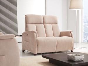 divano due posti poltrona relax piccola