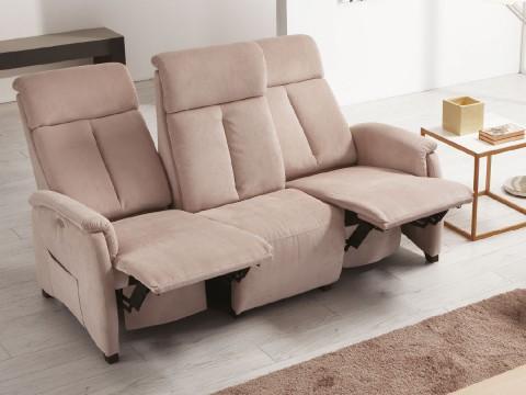 divano tre posti poltrone relax piccole aperte