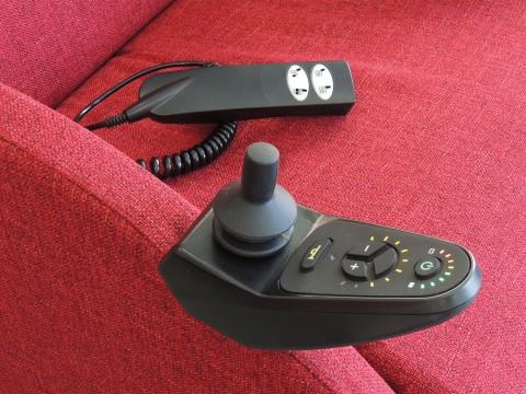 joystick e filocomando poltrona relax robotica daisy