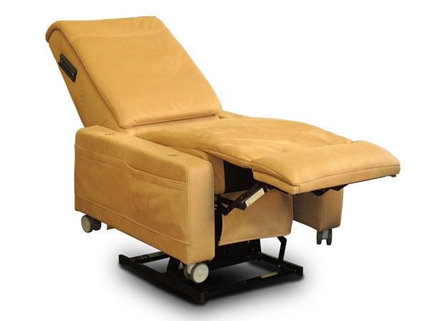 poltrona antidecubito posizione relax senza braccioli
