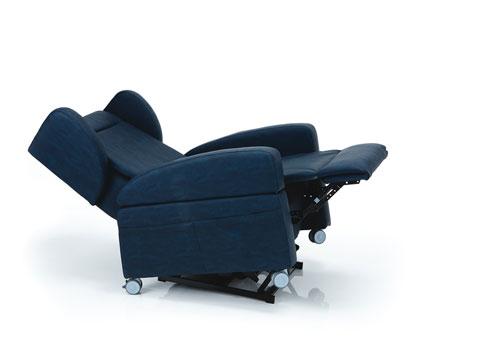poltrona antidecubito reclinata