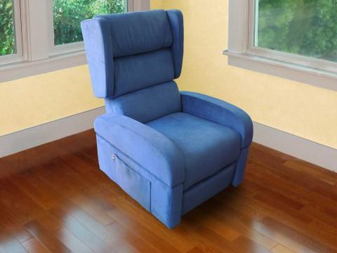 Poltrona anziani alzapersona reclinabile elevabile roller-system braccioli staccabili