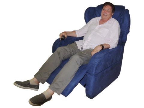 poltrona anziani due motori relax-tv