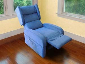 poltrona anziani posizione relax