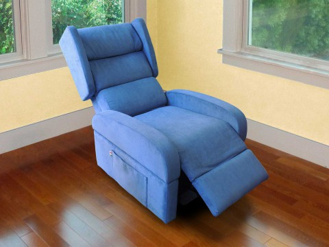 poltrona anziani reclinabile