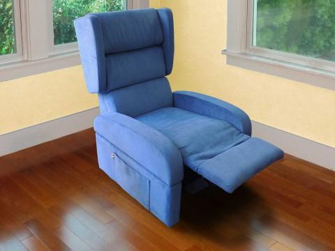 poltrona anziani reclinabile posizione tv