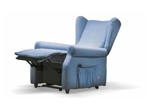 poltrona elevabile per anziani grazia in posizione relax
