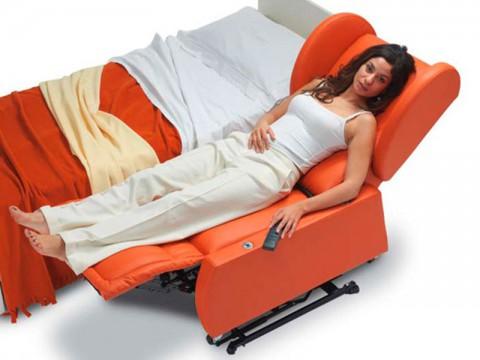 poltrona letto per disabili.