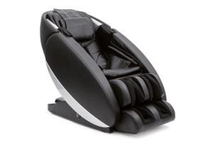 Poltrona massaggiante professionale due colori grigio nero