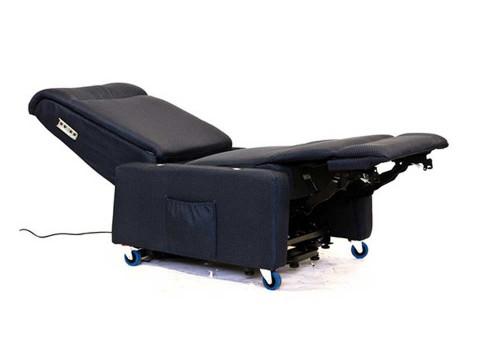 poltrona ortopedica estesa senza braccioli e poggiatesta laterali