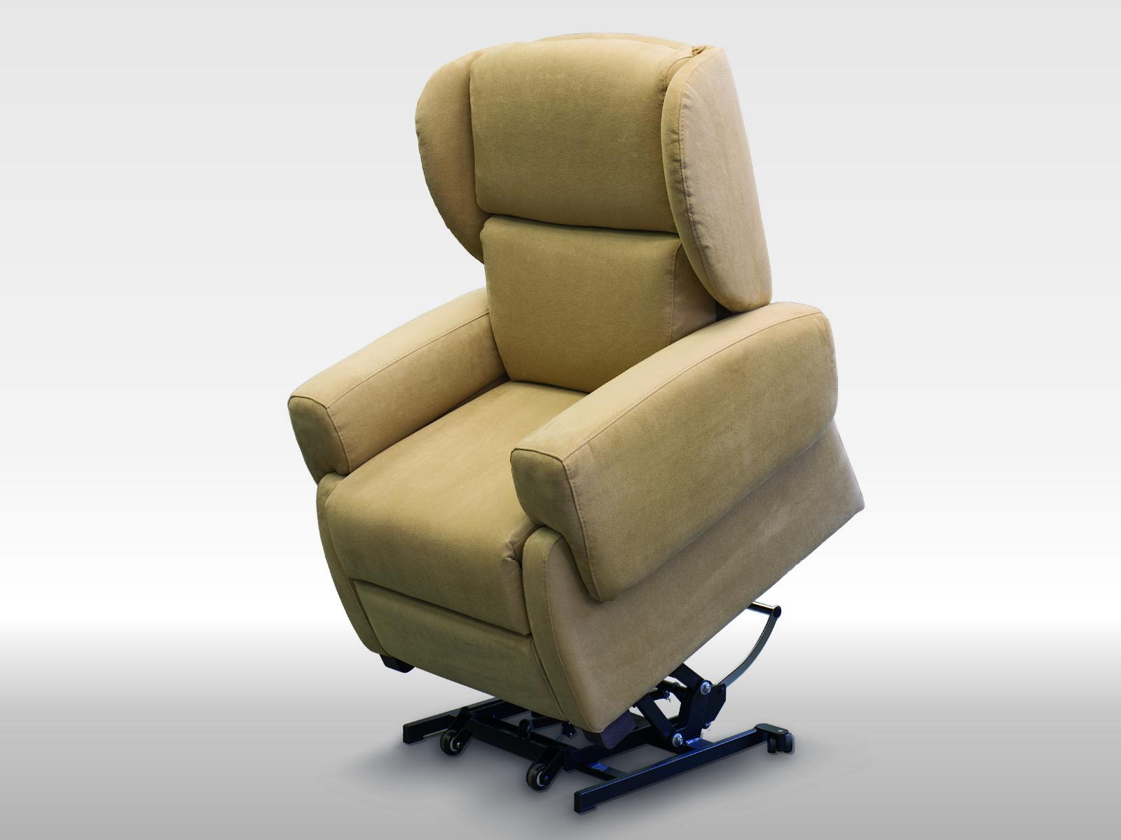 Poltrona per anziani comoda reclinabile a 2 motori