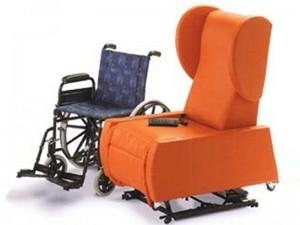 Poltrona per disabili elevebile