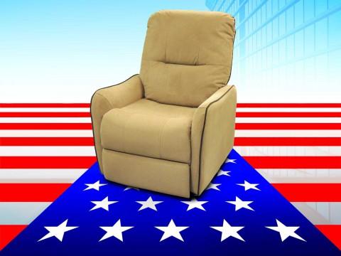 poltrona relax antimacchia America chiara
