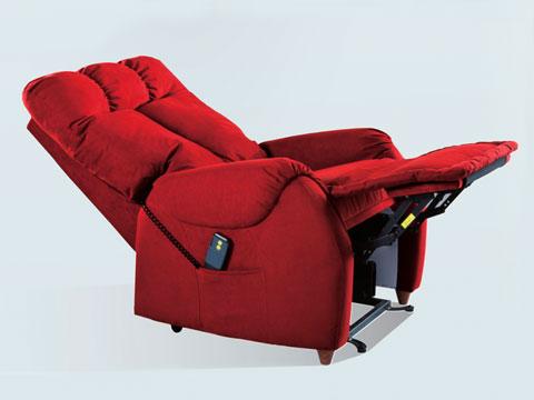 poltrona relax anziani ades rossa posizione letto