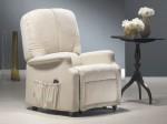 poltrona relax anziani londra bianca