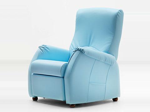 Poltrona relax con reclinazione manuale jenny
