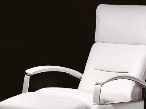 poltrona relax design bianca