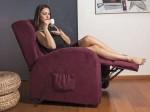 poltrona relax elettrica massaggiante sanremo