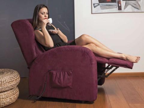 poltrona relax elettrica