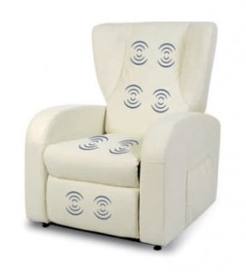 poltrona relax elettrica punti di massaggio