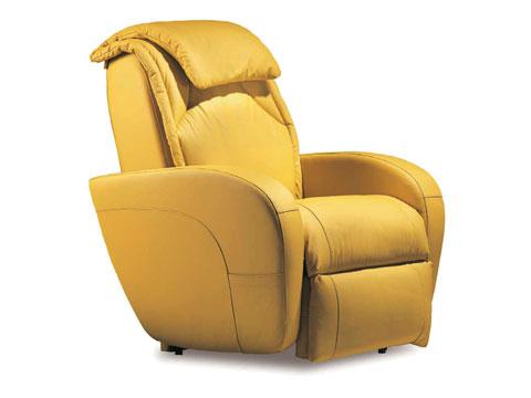 vista laterale poltrona relax massaggiante ibiza