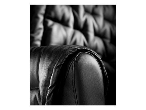 Dettaglio bracciolo della poltrona massaggiante shiatsu simona
