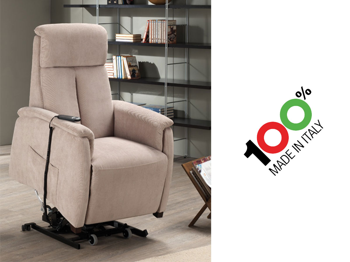 Poltrone Relax Made In Italy.Poltrona Relax Piccola