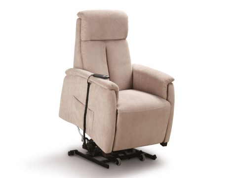 poltrona relax piccola elevabile roller system