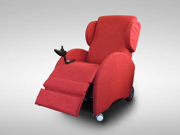 poltrona relax robotica posizione tv