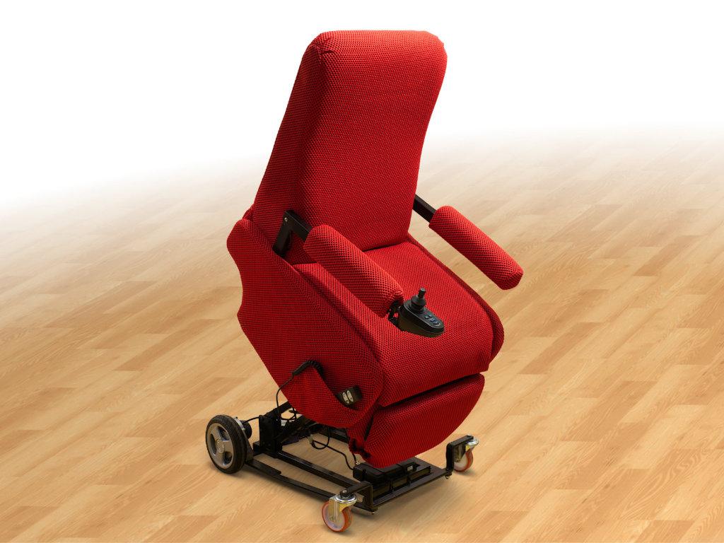 poltrona robotica per anziani e disabili