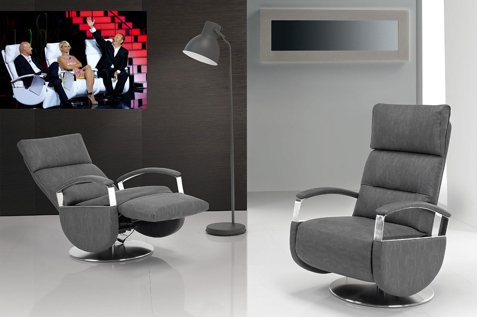 Poltrone Relax Tv.Poltrone Relax Design Viste In Tv Foto Grande Poltrone
