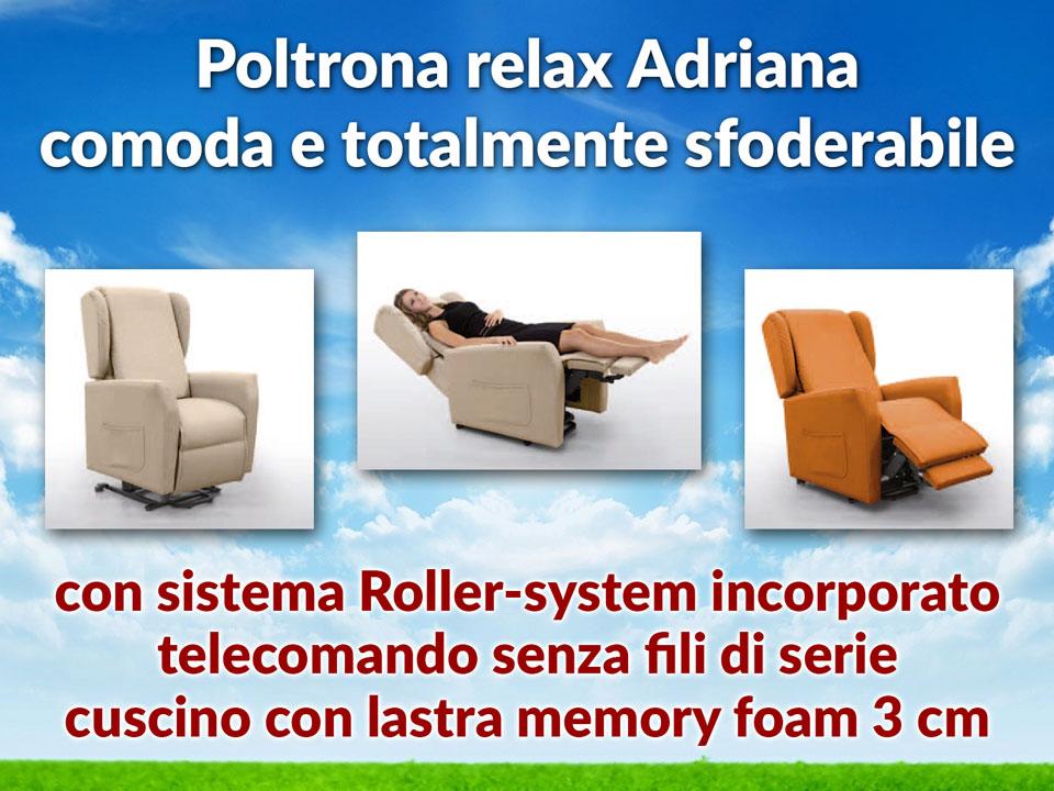 poltrone sfoderabili con roller-system