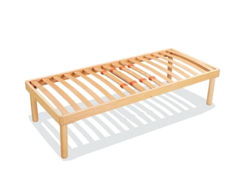 reti a doghe in legno singole