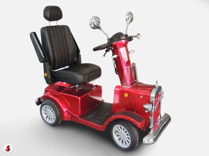 scooter anziani braccioli alzati